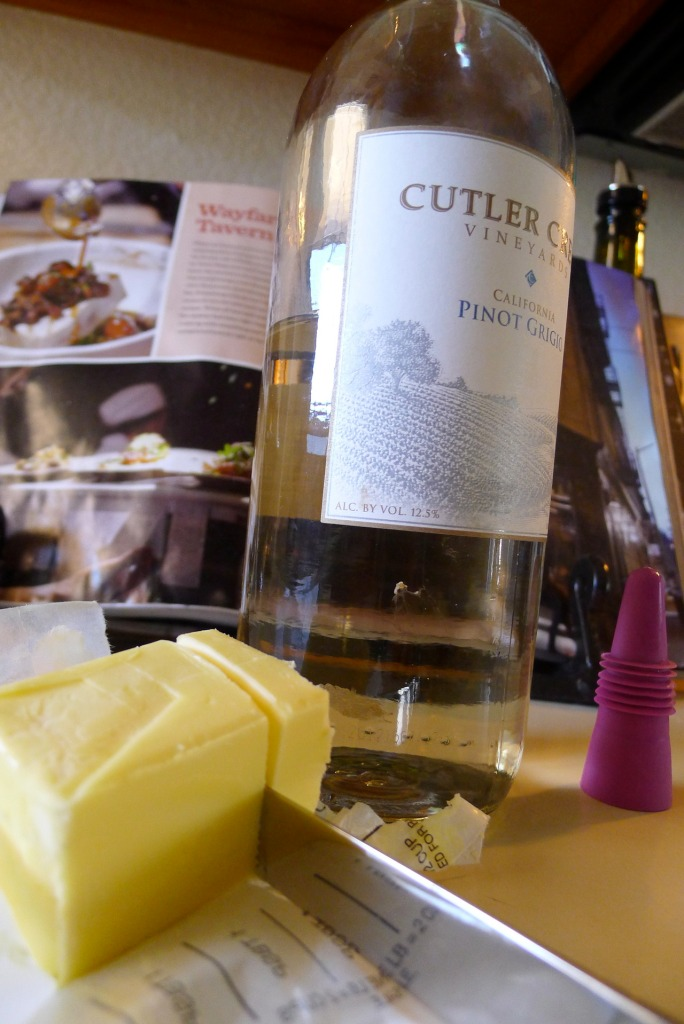 Butter and white wine add a richness and depth to your meat